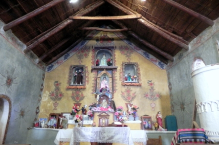 Church of Nuestra Señora of Belen in Susques